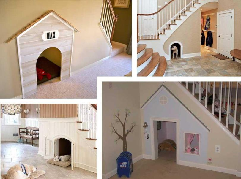 Dog-house-under-stairs....